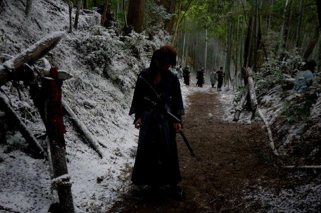 Battousai retires his katana.