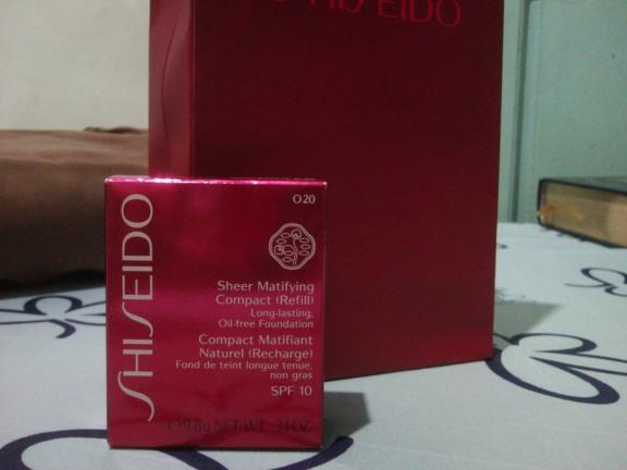 Shiseido Sheer Matifying Compact