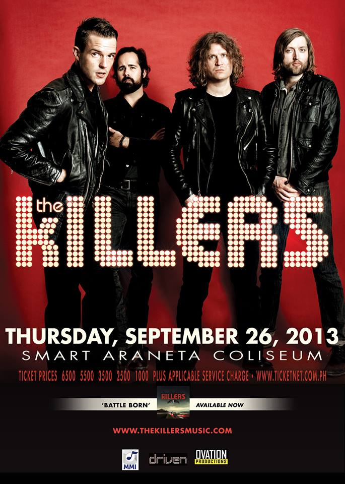 The Killers in Manila 2013