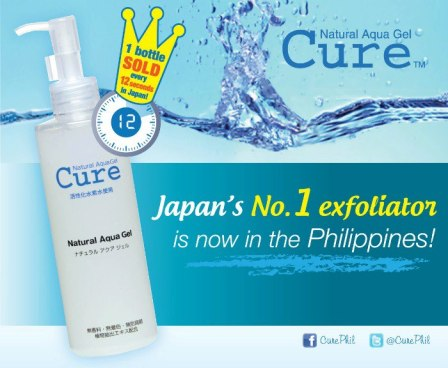 Cure Natural Aqua Gel promises and delivers gently exfoliated skin in a snap.