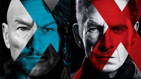 Xavier and Magneto, Past and Future.