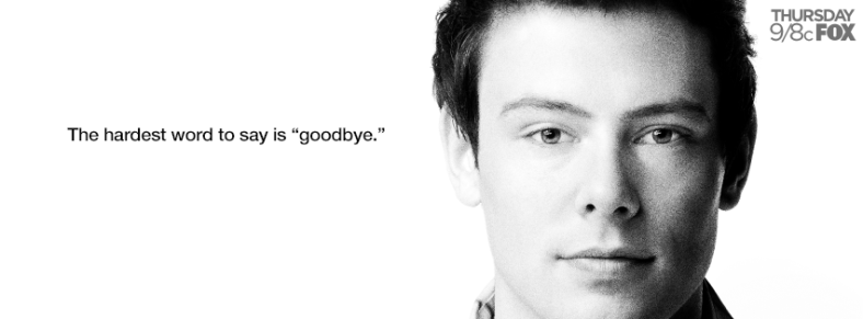 Glee Cory Monteith Tribute