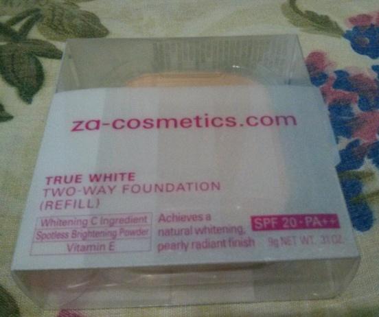 ZA True White Two-Way Foundation