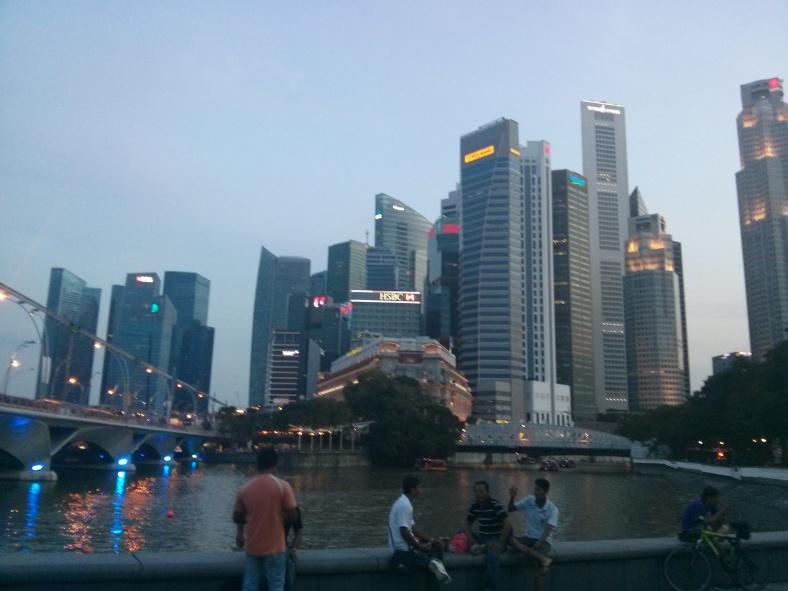 Singapore River Walking Tour