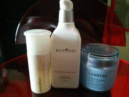 korean_10_step_skin_care_beyong_white_emulsion_laneige_water_bank
