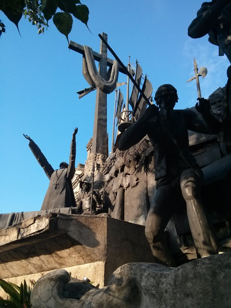 Cebu in one towering, sprawling monument. The Heritage of Cebu near Colon, Parian.